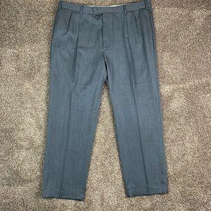 Brooks Brothers 44 x 31 Pleated Dress Pants Wool